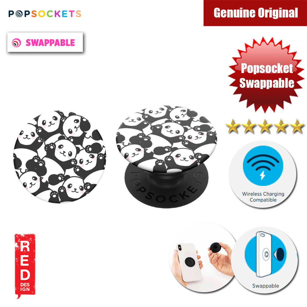 Picture of Popsockets PopGrip Swappable (Pandamonium) Red Design- Red Design Cases, Red Design Covers, iPad Cases and a wide selection of Red Design Accessories in Malaysia, Sabah, Sarawak and Singapore