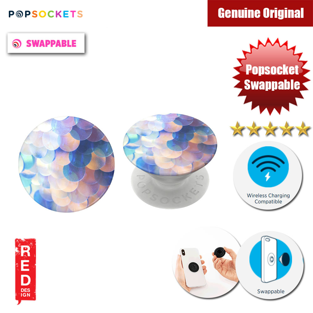 Picture of Popsockets PopGrip Swappable (Shimmer Scales Gloss) Red Design- Red Design Cases, Red Design Covers, iPad Cases and a wide selection of Red Design Accessories in Malaysia, Sabah, Sarawak and Singapore
