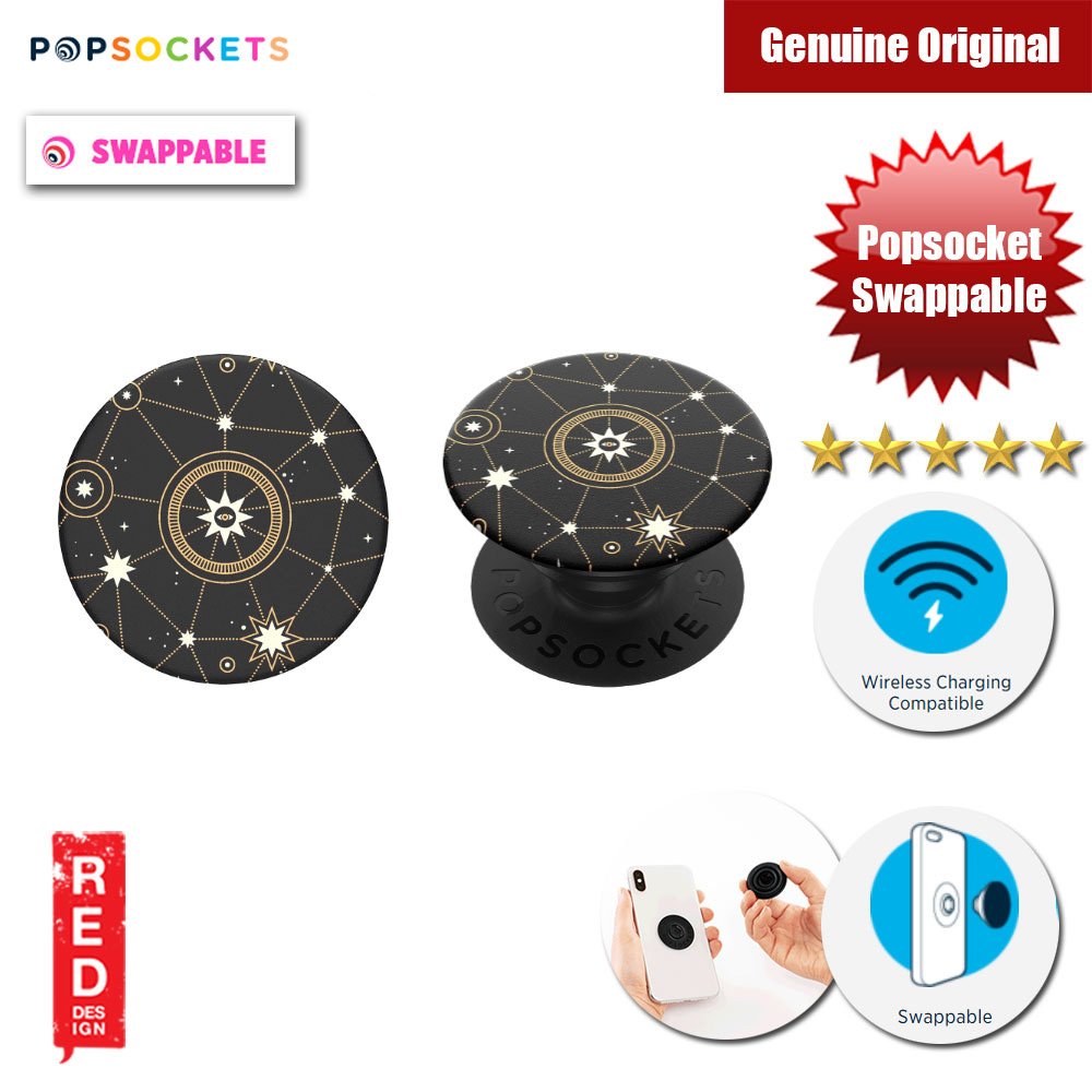 Picture of Popsockets PopGrip Swappable (Star Chart) Red Design- Red Design Cases, Red Design Covers, iPad Cases and a wide selection of Red Design Accessories in Malaysia, Sabah, Sarawak and Singapore