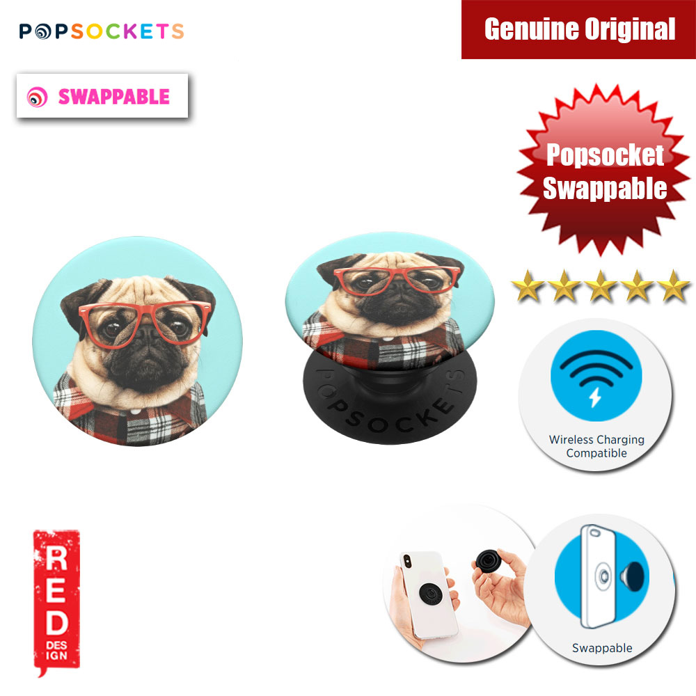 Picture of Popsockets PopGrip Swappable (Studious Stu) Red Design- Red Design Cases, Red Design Covers, iPad Cases and a wide selection of Red Design Accessories in Malaysia, Sabah, Sarawak and Singapore