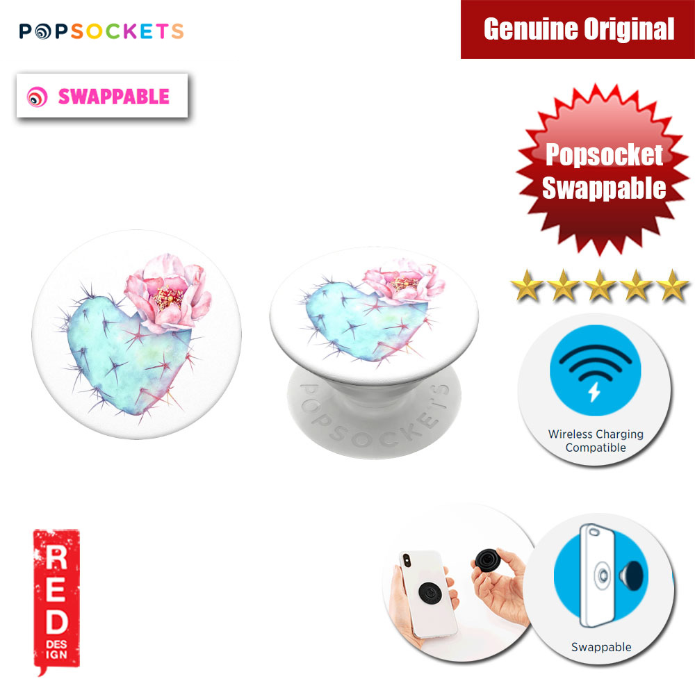 Picture of Popsockets PopGrip Swappable (Succulent Heart) Red Design- Red Design Cases, Red Design Covers, iPad Cases and a wide selection of Red Design Accessories in Malaysia, Sabah, Sarawak and Singapore