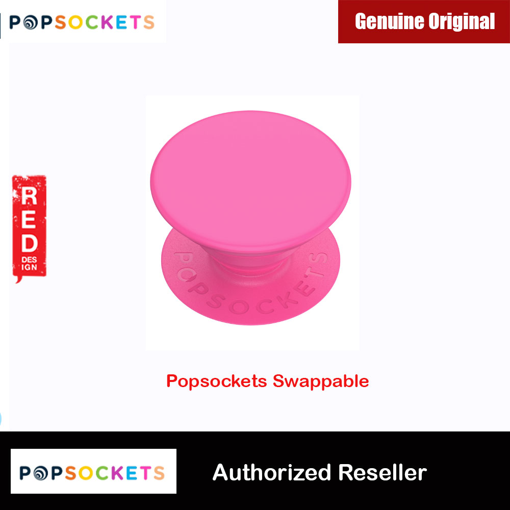 Picture of Popsockets PopGrip Swappable (Neon Pink) Red Design- Red Design Cases, Red Design Covers, iPad Cases and a wide selection of Red Design Accessories in Malaysia, Sabah, Sarawak and Singapore