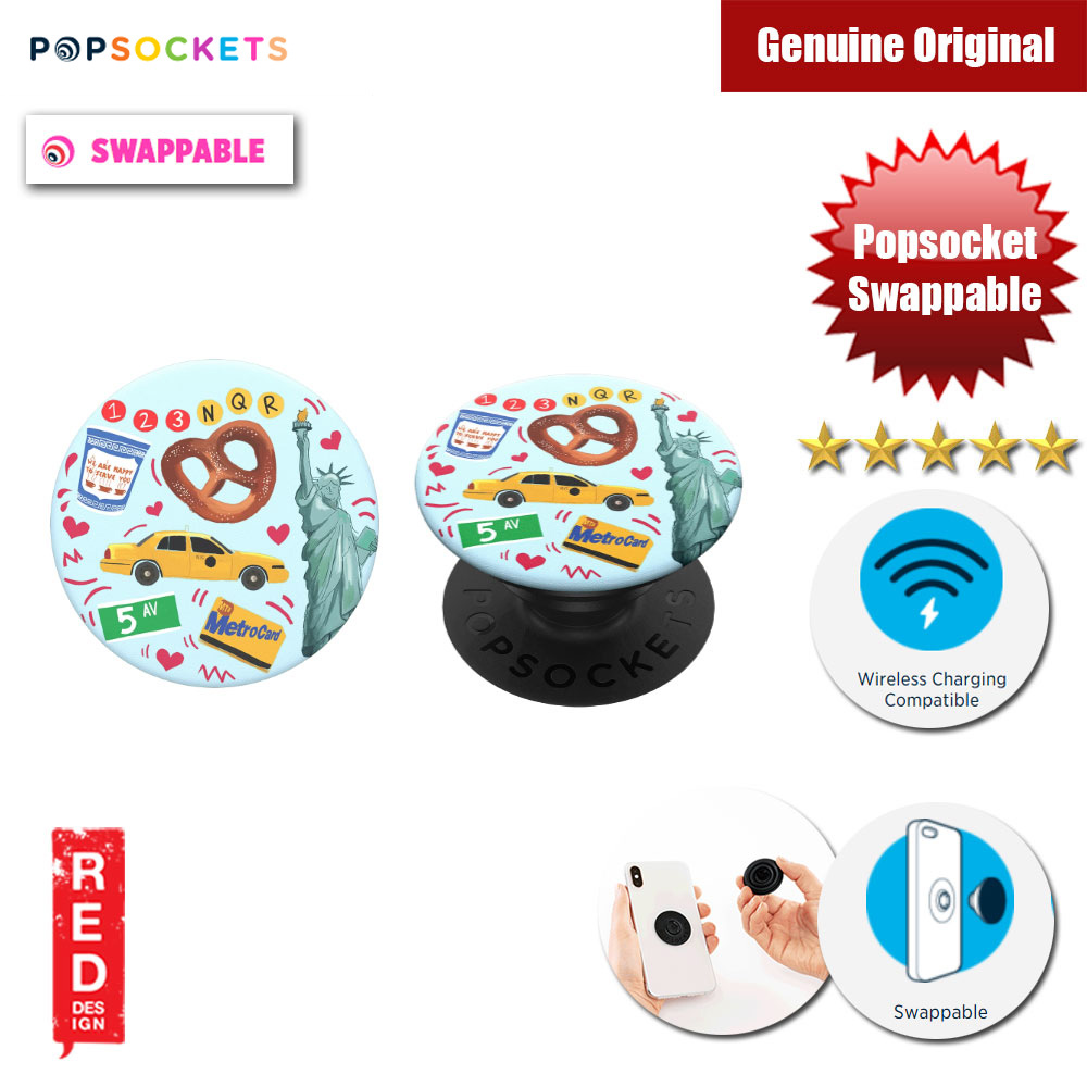Picture of Popsockets PopGrip Swappable (New York) Red Design- Red Design Cases, Red Design Covers, iPad Cases and a wide selection of Red Design Accessories in Malaysia, Sabah, Sarawak and Singapore