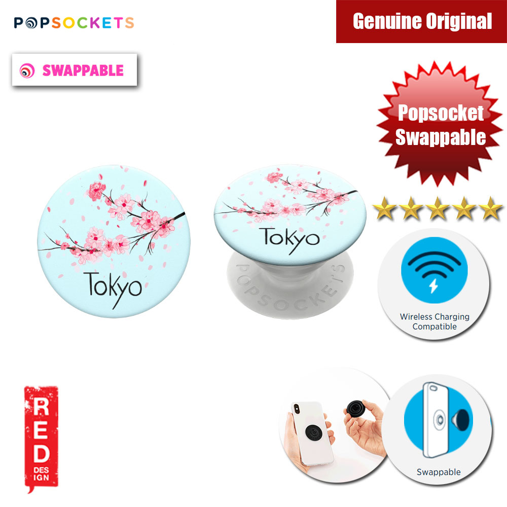 Picture of Popsockets PopGrip Swappable (Tokyo) Red Design- Red Design Cases, Red Design Covers, iPad Cases and a wide selection of Red Design Accessories in Malaysia, Sabah, Sarawak and Singapore