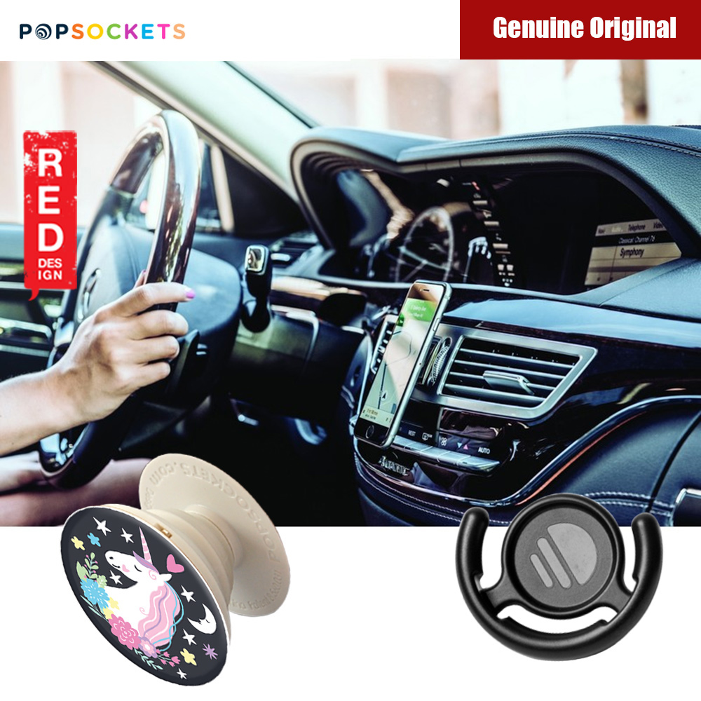 Picture of Popsockets A Phone Grip A Phone Stand An Earbud Management System (Unicorn Dream with Popclip) Red Design- Red Design Cases, Red Design Covers, iPad Cases and a wide selection of Red Design Accessories in Malaysia, Sabah, Sarawak and Singapore