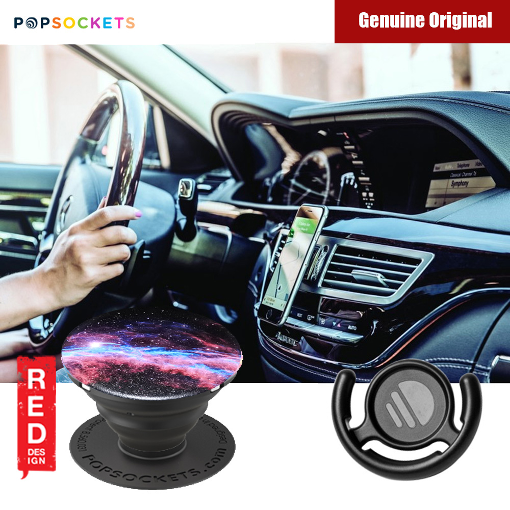 Picture of Popsockets A Phone Grip A Phone Stand An Earbud Management System (Veil Nebula with Popclip) Red Design- Red Design Cases, Red Design Covers, iPad Cases and a wide selection of Red Design Accessories in Malaysia, Sabah, Sarawak and Singapore