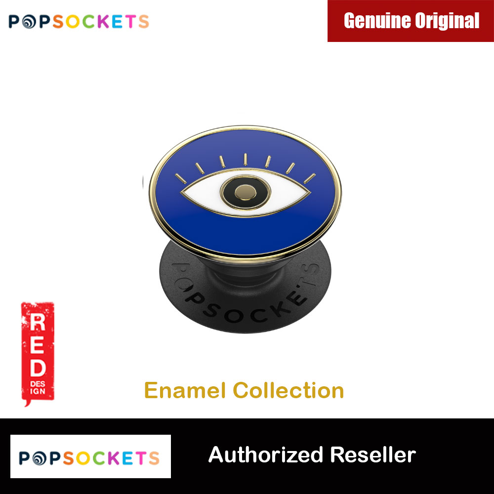Picture of Popsockets PopGrip Swappable Premium Collection (Enamel Evil Eye) Red Design- Red Design Cases, Red Design Covers, iPad Cases and a wide selection of Red Design Accessories in Malaysia, Sabah, Sarawak and Singapore