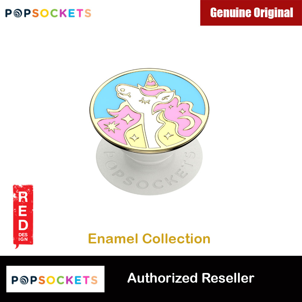 Picture of Popsockets PopGrip Swappable Premium Collection (Enamel Mane Event Pink) Red Design- Red Design Cases, Red Design Covers, iPad Cases and a wide selection of Red Design Accessories in Malaysia, Sabah, Sarawak and Singapore