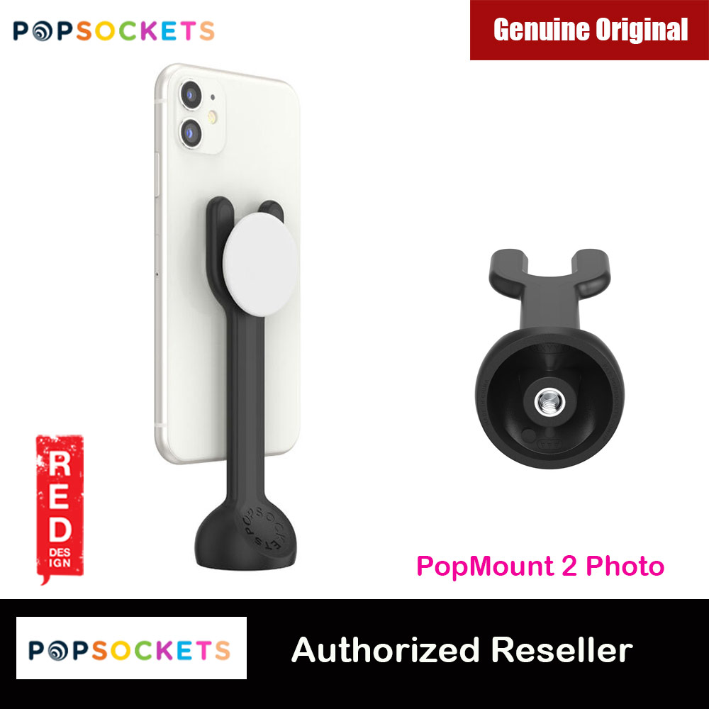 Picture of Popsockets PopMount 2 Photo Tripod Mount (Black) Red Design- Red Design Cases, Red Design Covers, iPad Cases and a wide selection of Red Design Accessories in Malaysia, Sabah, Sarawak and Singapore