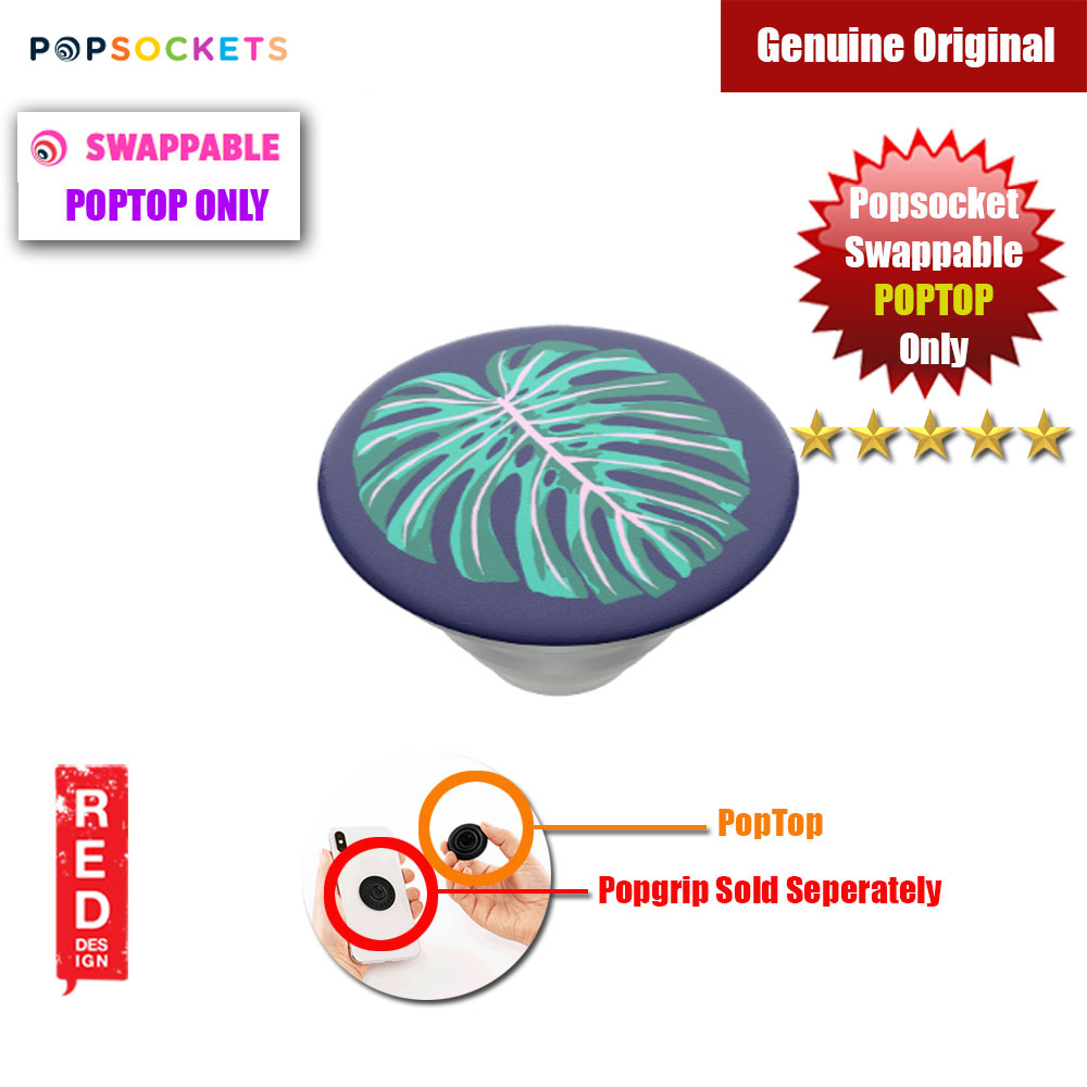 Picture of Popsockets PopGrip Swappable PopTop Only (Vintage Palm Leaf) Red Design- Red Design Cases, Red Design Covers, iPad Cases and a wide selection of Red Design Accessories in Malaysia, Sabah, Sarawak and Singapore