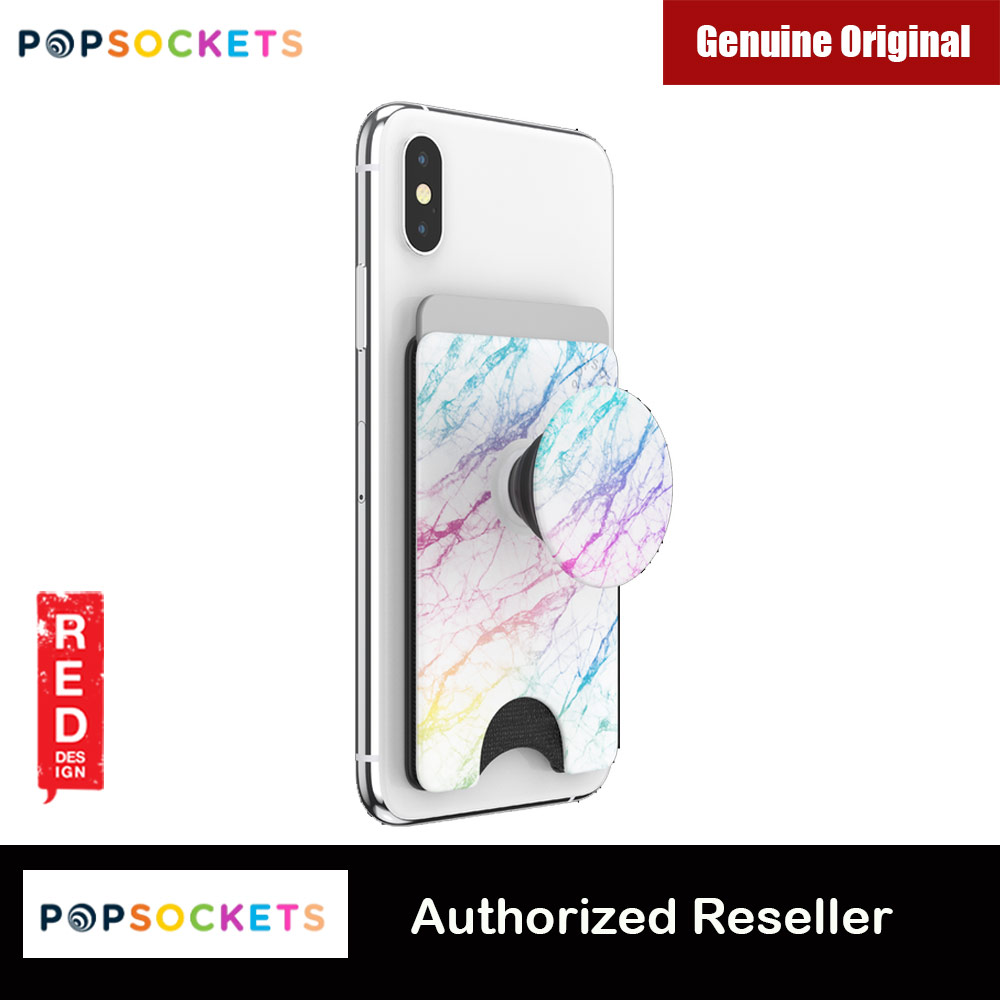 Picture of Popsockets Popwallet Plus Card Holder Credit Card Holder Parking Ticket Holder Card Wallet (Unicorn Marble) Red Design- Red Design Cases, Red Design Covers, iPad Cases and a wide selection of Red Design Accessories in Malaysia, Sabah, Sarawak and Singapore