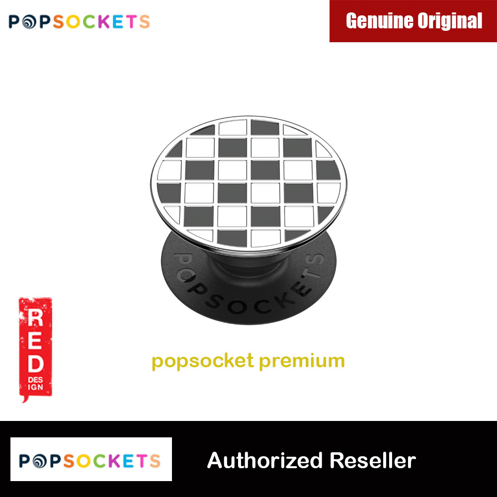 Picture of Popsockets PopGrip Swappable Premium Collection (Enamel Counter Culture Black) Red Design- Red Design Cases, Red Design Covers, iPad Cases and a wide selection of Red Design Accessories in Malaysia, Sabah, Sarawak and Singapore