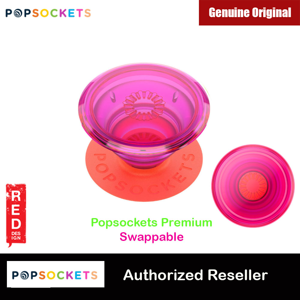Picture of Popsockets PopGrip Swappable Premium Collection (Neon Glow Electric Sunrise) Red Design- Red Design Cases, Red Design Covers, iPad Cases and a wide selection of Red Design Accessories in Malaysia, Sabah, Sarawak and Singapore