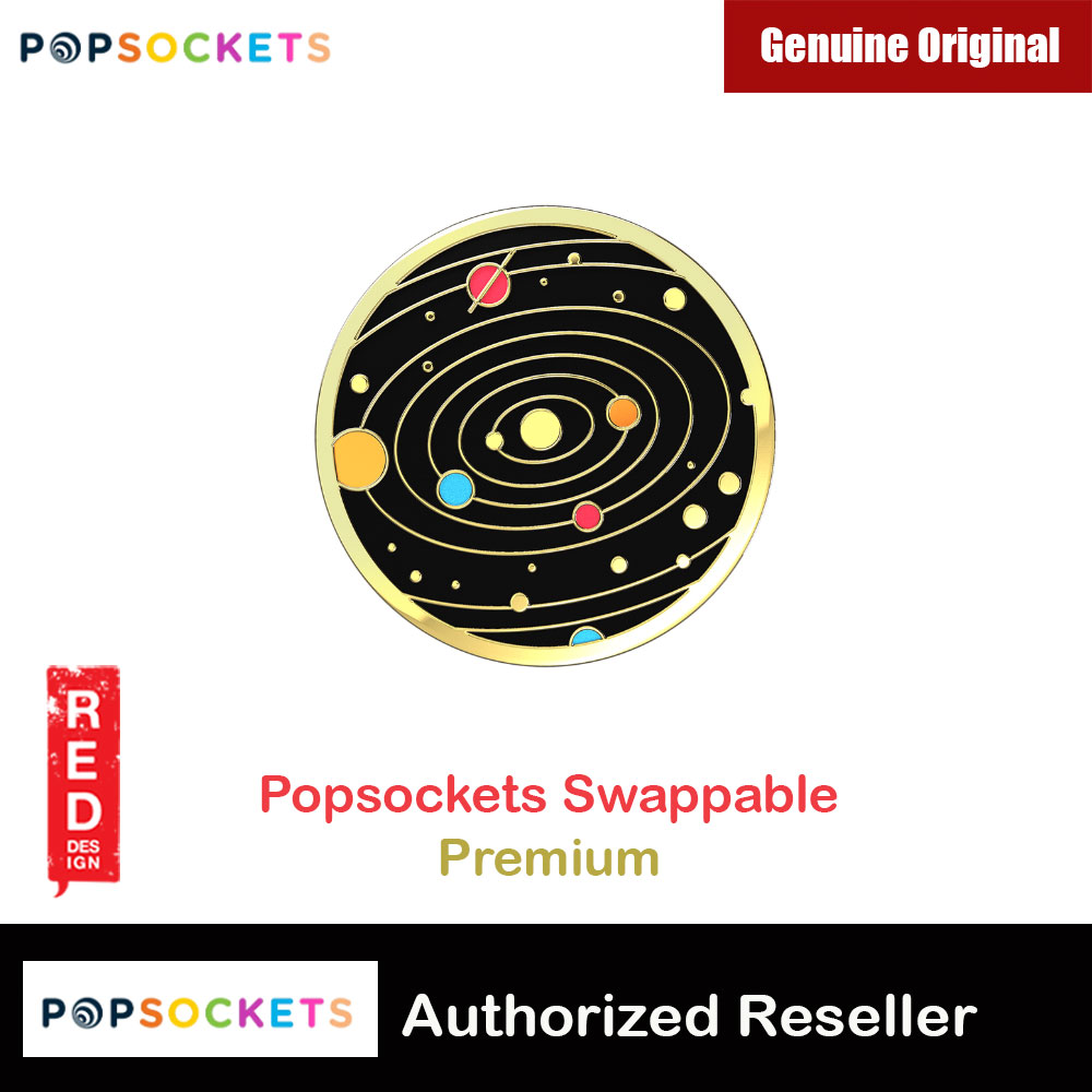 Picture of Popsockets PopGrip Swappable Premium Collection (Solar Flare) Red Design- Red Design Cases, Red Design Covers, iPad Cases and a wide selection of Red Design Accessories in Malaysia, Sabah, Sarawak and Singapore
