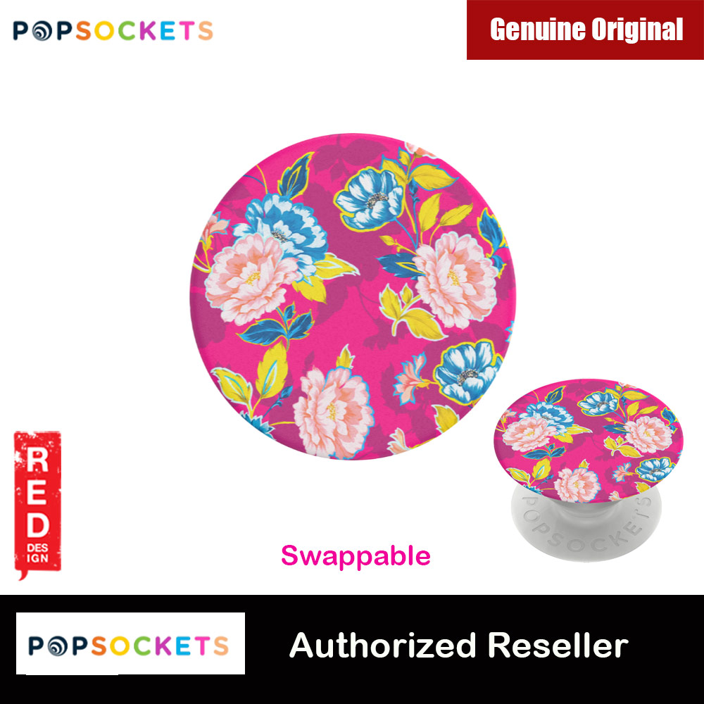 Picture of Popsockets PopGrip Swappable Flower Series (Heritage Rose Fuschia) Red Design- Red Design Cases, Red Design Covers, iPad Cases and a wide selection of Red Design Accessories in Malaysia, Sabah, Sarawak and Singapore