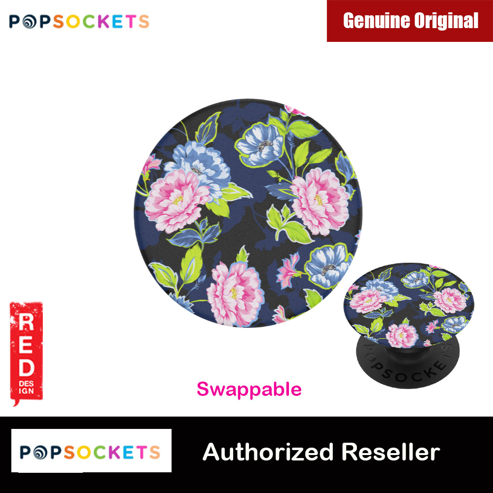 Picture of Popsockets PopGrip Swappable Flower Series (Hertitage Rose Noir) Red Design- Red Design Cases, Red Design Covers, iPad Cases and a wide selection of Red Design Accessories in Malaysia, Sabah, Sarawak and Singapore