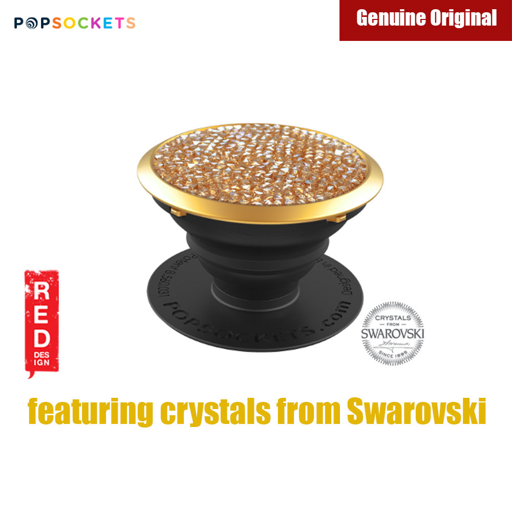Picture of Popsockets A Phone Grip A Phone Stand An Earbud Management System Crystals from Swarovski (Golden Shadow Crystal) Red Design- Red Design Cases, Red Design Covers, iPad Cases and a wide selection of Red Design Accessories in Malaysia, Sabah, Sarawak and Singapore