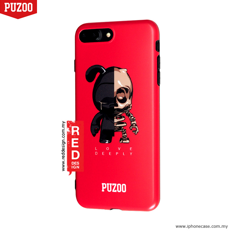 Picture of Apple iPhone 8 Plus Case | Puzoo Fashion TPU Soft Case for Apple iPhone 7 Plus iPhone 8 Plus 5.5 - Kugo