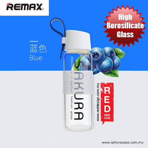 Picture of Remax Sakura Glass Bottle for High Temperature - Blue Red Design- Red Design Cases, Red Design Covers, iPad Cases and a wide selection of Red Design Accessories in Malaysia, Sabah, Sarawak and Singapore