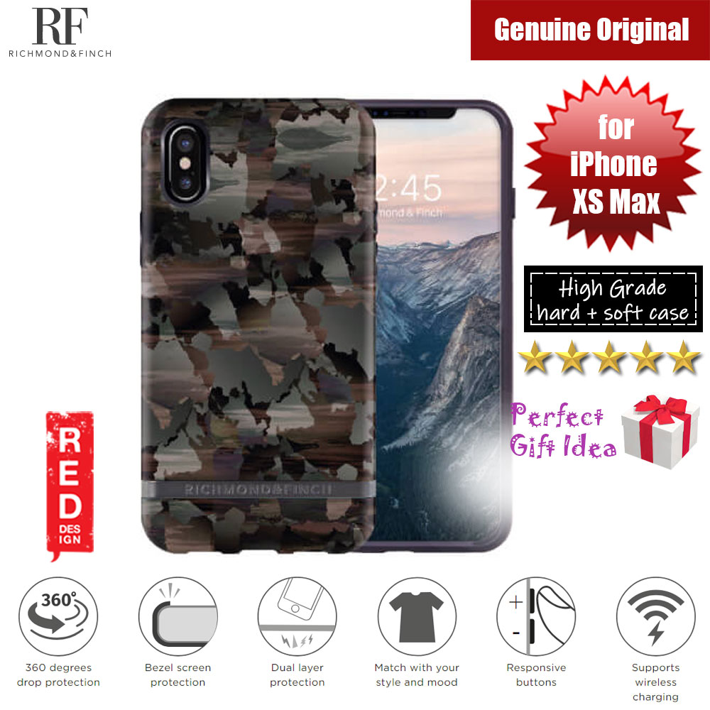 Picture of Richmond and Finch unique design for female protection case for Apple iPhone XS Max (Camouflage) Apple iPhone XS Max- Apple iPhone XS Max Cases, Apple iPhone XS Max Covers, iPad Cases and a wide selection of Apple iPhone XS Max Accessories in Malaysia, Sabah, Sarawak and Singapore