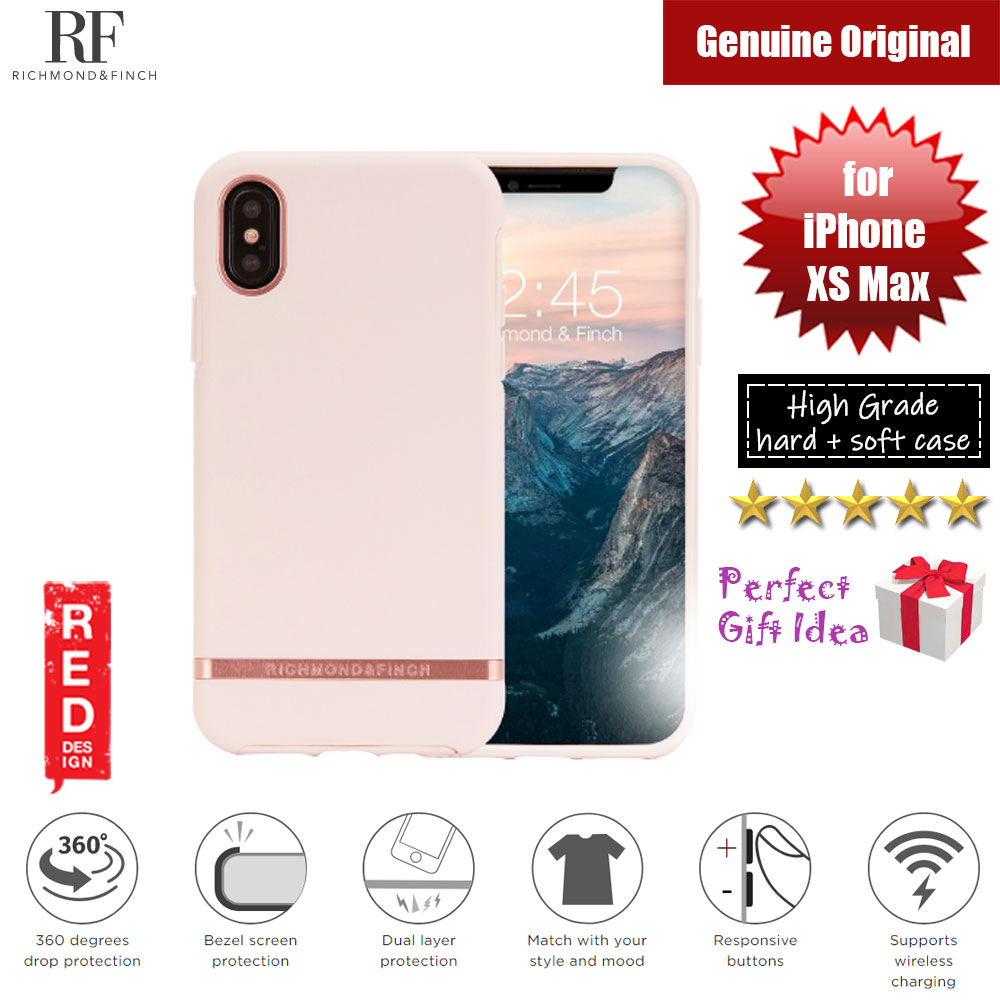 Picture of Richmond and Finch unique design protection case for Apple iPhone XS Max (Pink Rose) Apple iPhone XS Max- Apple iPhone XS Max Cases, Apple iPhone XS Max Covers, iPad Cases and a wide selection of Apple iPhone XS Max Accessories in Malaysia, Sabah, Sarawak and Singapore