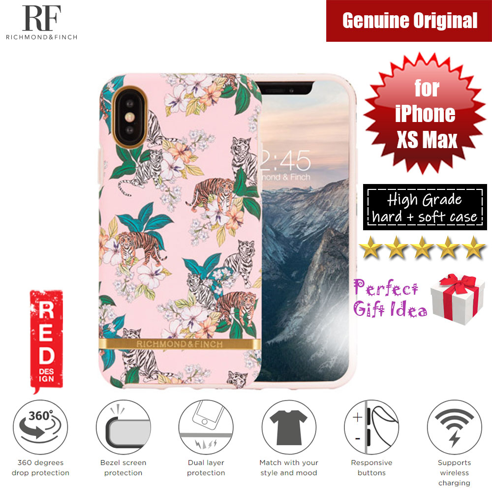Picture of Richmond and Finch unique design protection case for Apple iPhone XS Max (Pink Tiger) Apple iPhone XS Max- Apple iPhone XS Max Cases, Apple iPhone XS Max Covers, iPad Cases and a wide selection of Apple iPhone XS Max Accessories in Malaysia, Sabah, Sarawak and Singapore