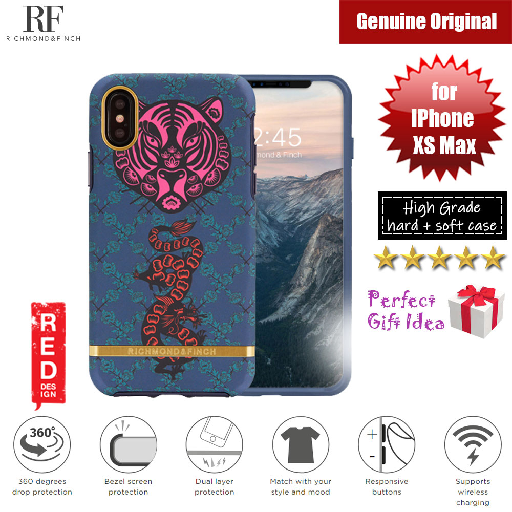 Picture of Richmond and Finch unique design protection case for Apple iPhone XS Max (Tiger and Dragon) Apple iPhone XS Max- Apple iPhone XS Max Cases, Apple iPhone XS Max Covers, iPad Cases and a wide selection of Apple iPhone XS Max Accessories in Malaysia, Sabah, Sarawak and Singapore
