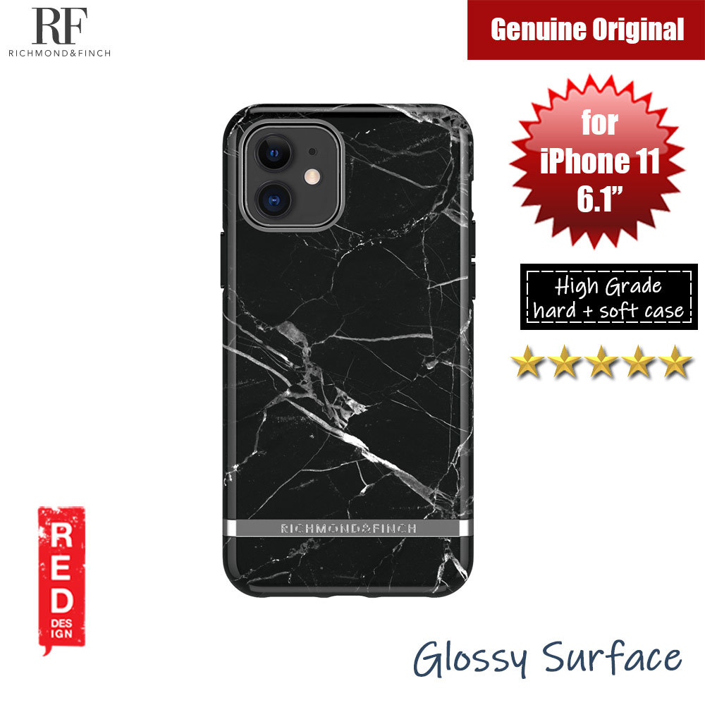 Picture of Richmond and Finch unique design protection case for Apple iPhone 11 6.1 (Black Marble) Apple iPhone 11 6.1- Apple iPhone 11 6.1 Cases, Apple iPhone 11 6.1 Covers, iPad Cases and a wide selection of Apple iPhone 11 6.1 Accessories in Malaysia, Sabah, Sarawak and Singapore
