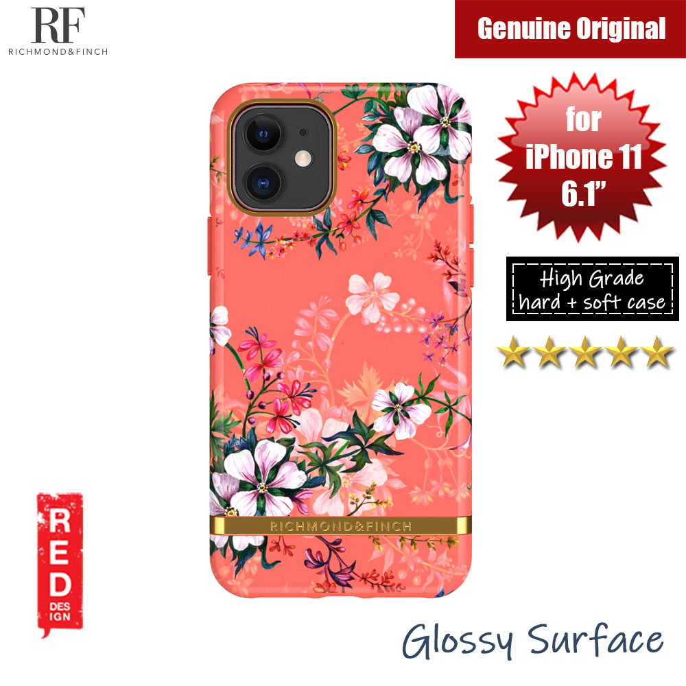 Picture of Richmond and Finch unique design protection case for Apple iPhone 11 6.1 (Coral Dreams) Apple iPhone 11 6.1- Apple iPhone 11 6.1 Cases, Apple iPhone 11 6.1 Covers, iPad Cases and a wide selection of Apple iPhone 11 6.1 Accessories in Malaysia, Sabah, Sarawak and Singapore