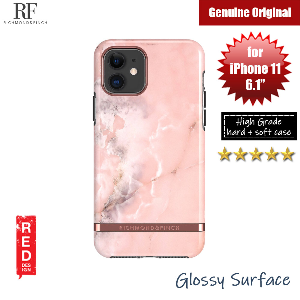 Picture of Richmond and Finch unique design protection case for Apple iPhone 11 6.1 (Pink Marble) Apple iPhone 11 6.1- Apple iPhone 11 6.1 Cases, Apple iPhone 11 6.1 Covers, iPad Cases and a wide selection of Apple iPhone 11 6.1 Accessories in Malaysia, Sabah, Sarawak and Singapore