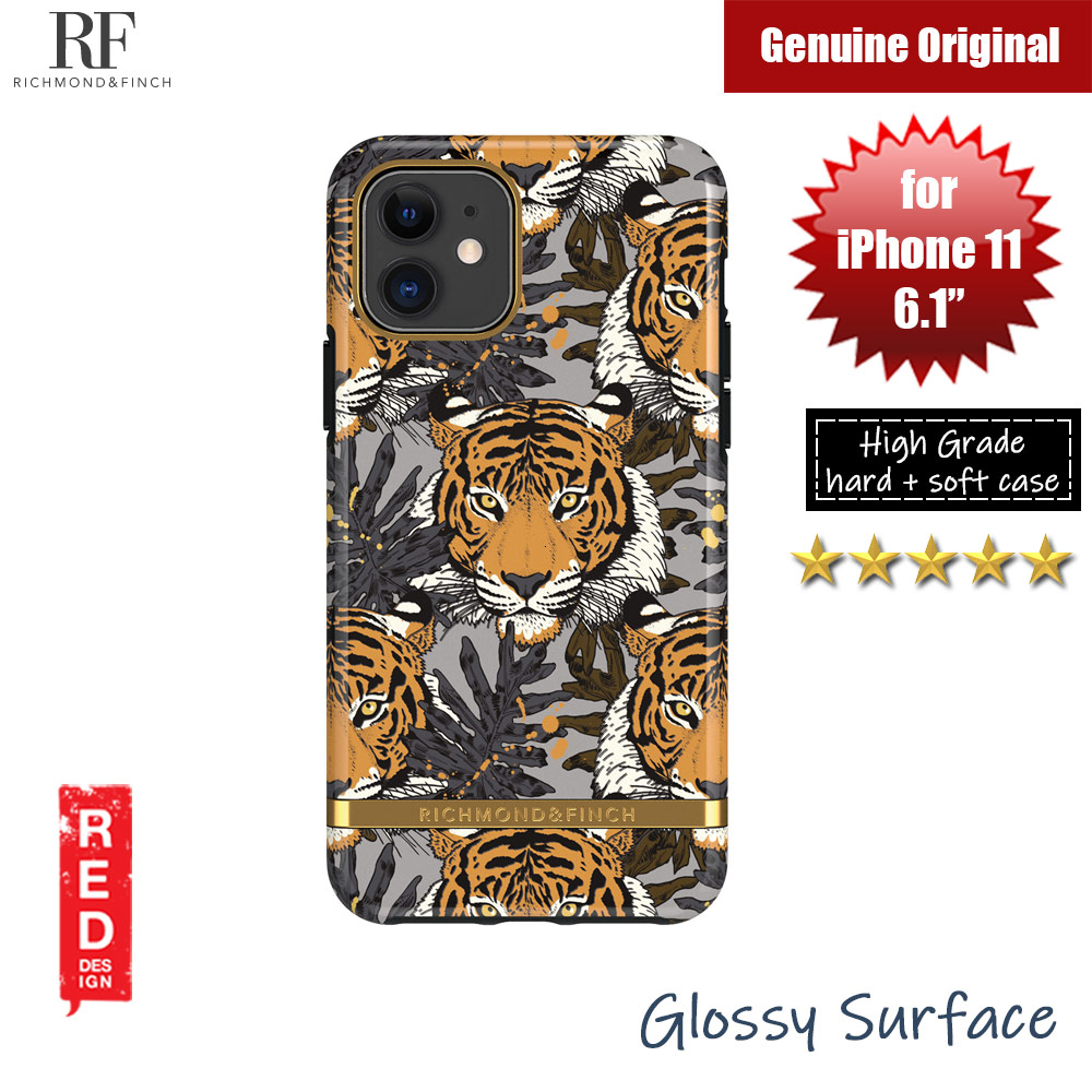 Picture of Richmond and Finch unique design protection case for Apple iPhone 11 6.1 (Tropical Tiger ) Apple iPhone 11 6.1- Apple iPhone 11 6.1 Cases, Apple iPhone 11 6.1 Covers, iPad Cases and a wide selection of Apple iPhone 11 6.1 Accessories in Malaysia, Sabah, Sarawak and Singapore