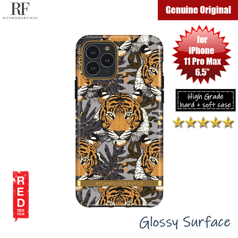 Picture of Richmond and Finch unique design protection case for Apple iPhone 11 Pro Max 6.5 (Tropical Tiger) Apple iPhone 11 Pro Max 6.5- Apple iPhone 11 Pro Max 6.5 Cases, Apple iPhone 11 Pro Max 6.5 Covers, iPad Cases and a wide selection of Apple iPhone 11 Pro Max 6.5 Accessories in Malaysia, Sabah, Sarawak and Singapore