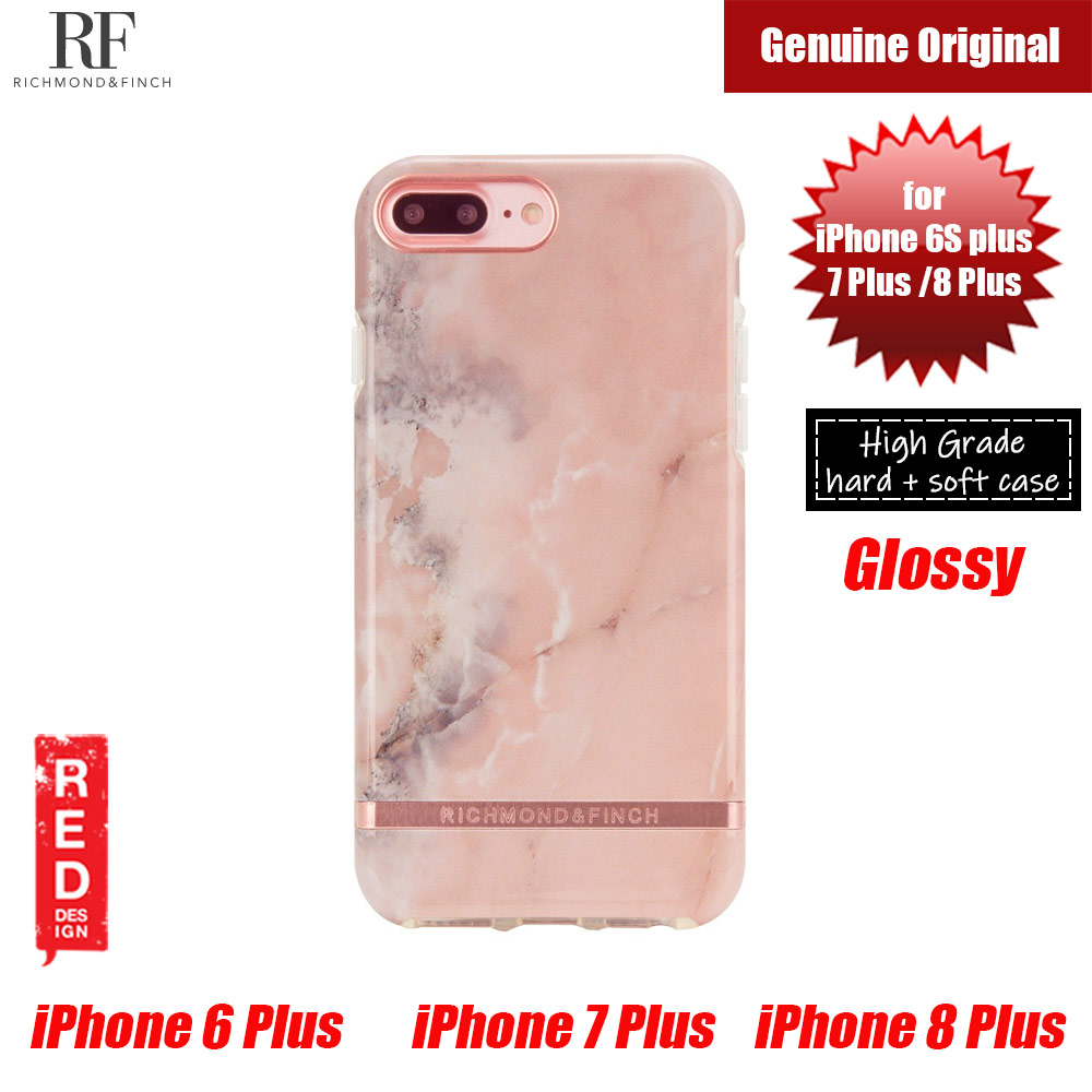 Picture of Richmond and Finch unique design for female protection case for Apple iPhone 6S Plus 7 Plus 8 Plus (Pink Marble) Apple iPhone 8 Plus- Apple iPhone 8 Plus Cases, Apple iPhone 8 Plus Covers, iPad Cases and a wide selection of Apple iPhone 8 Plus Accessories in Malaysia, Sabah, Sarawak and Singapore