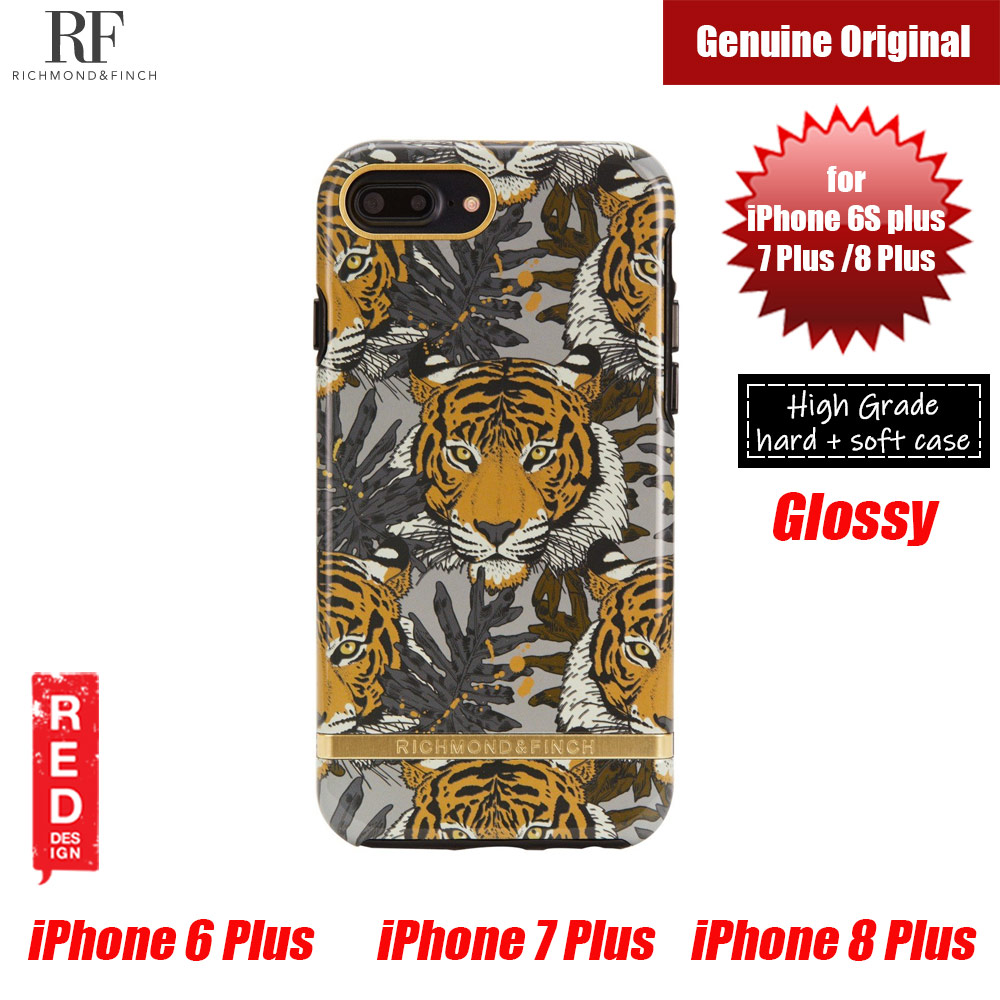 Picture of Richmond and Finch unique design for female protection case for Apple iPhone 6S Plus 7 Plus 8 Plus (Tropica Tiger) Apple iPhone 8 Plus- Apple iPhone 8 Plus Cases, Apple iPhone 8 Plus Covers, iPad Cases and a wide selection of Apple iPhone 8 Plus Accessories in Malaysia, Sabah, Sarawak and Singapore