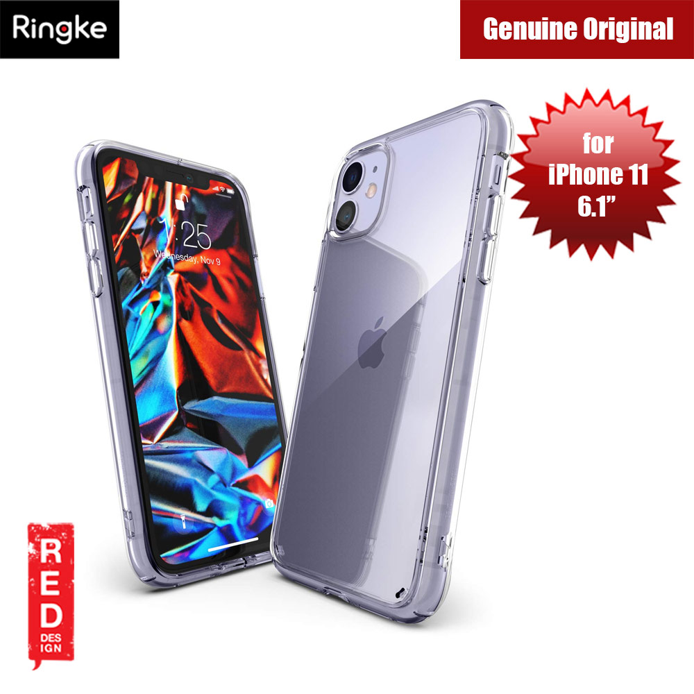 Picture of Ringke Fusion Extreme Tough Protection for Apple iPhone 11 (Clear) Apple iPhone 11 6.1- Apple iPhone 11 6.1 Cases, Apple iPhone 11 6.1 Covers, iPad Cases and a wide selection of Apple iPhone 11 6.1 Accessories in Malaysia, Sabah, Sarawak and Singapore
