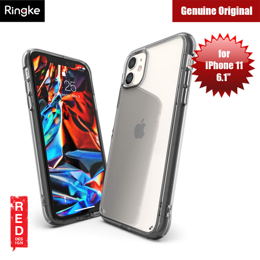 Picture of Ringke Fusion Extreme Tough Protection for Apple iPhone 11 (Smoke Black) Apple iPhone 11 6.1- Apple iPhone 11 6.1 Cases, Apple iPhone 11 6.1 Covers, iPad Cases and a wide selection of Apple iPhone 11 6.1 Accessories in Malaysia, Sabah, Sarawak and Singapore