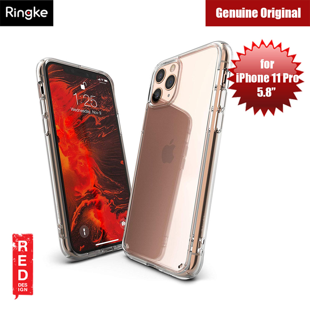 Picture of Ringke Fusion Extreme Tough Protection for Apple iPhone 11 Pro (Clear) Apple iPhone 11 Pro 5.8- Apple iPhone 11 Pro 5.8 Cases, Apple iPhone 11 Pro 5.8 Covers, iPad Cases and a wide selection of Apple iPhone 11 Pro 5.8 Accessories in Malaysia, Sabah, Sarawak and Singapore
