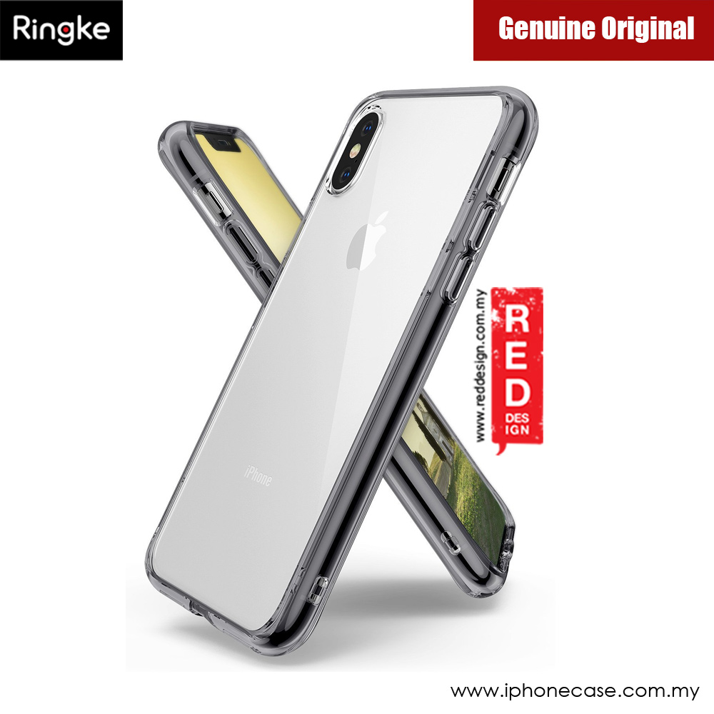 Picture of Rearth Ringke FUSION Crystal Clear PC Back TPU Bumper Case for Apple iPhone X XS (Smoke Black) Apple iPhone X- Apple iPhone X Cases, Apple iPhone X Covers, iPad Cases and a wide selection of Apple iPhone X Accessories in Malaysia, Sabah, Sarawak and Singapore