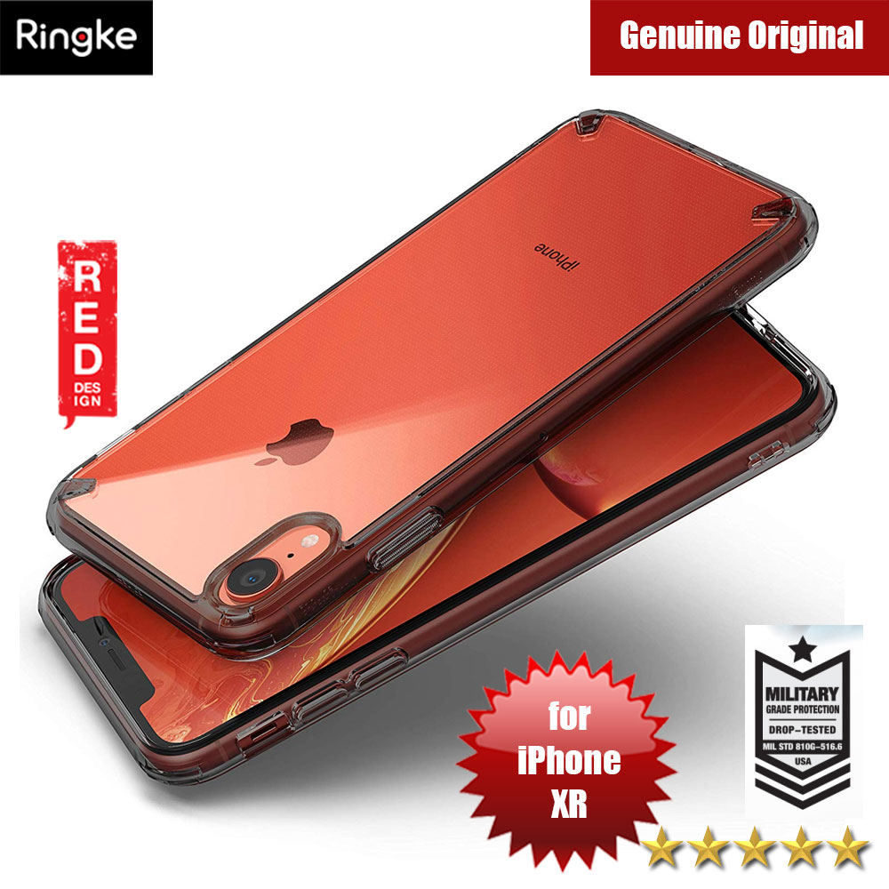 Picture of Ringke Fusion Extreme Tough Protection for Apple iPhone XR (Smoke Black) Apple iPhone XR- Apple iPhone XR Cases, Apple iPhone XR Covers, iPad Cases and a wide selection of Apple iPhone XR Accessories in Malaysia, Sabah, Sarawak and Singapore