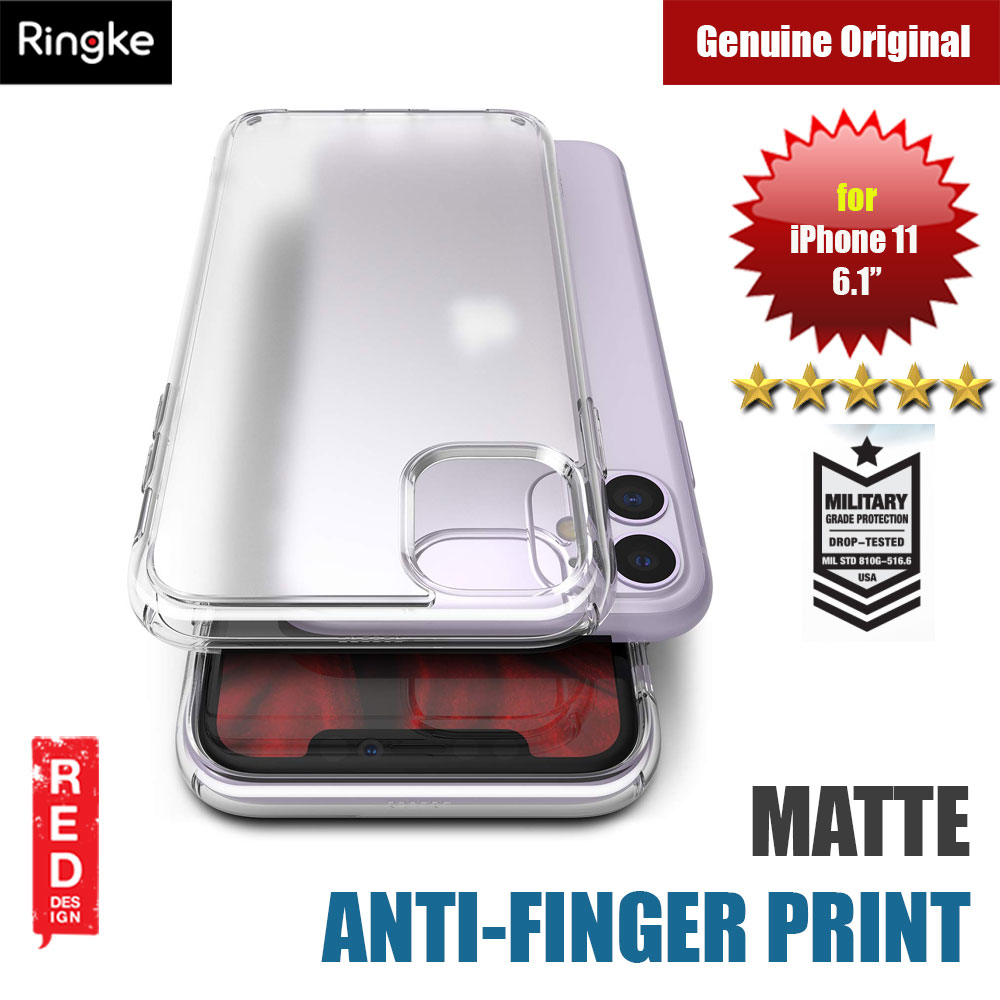 Picture of Ringke Fusion Matte Anti Fingerprint Extreme Tough Protection for Apple iPhone 11 6.1 (Matte Clear) Apple iPhone 11 6.1- Apple iPhone 11 6.1 Cases, Apple iPhone 11 6.1 Covers, iPad Cases and a wide selection of Apple iPhone 11 6.1 Accessories in Malaysia, Sabah, Sarawak and Singapore