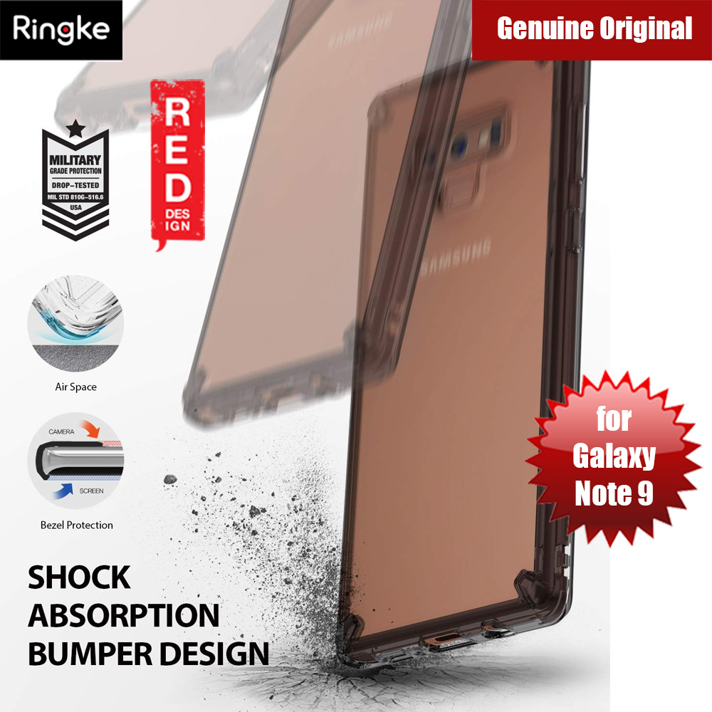 Picture of Ringke Fusion Extreme Tough Protection for Samsung Galaxy Note 9 (Smoke Black) Samsung Galaxy Note 9- Samsung Galaxy Note 9 Cases, Samsung Galaxy Note 9 Covers, iPad Cases and a wide selection of Samsung Galaxy Note 9 Accessories in Malaysia, Sabah, Sarawak and Singapore