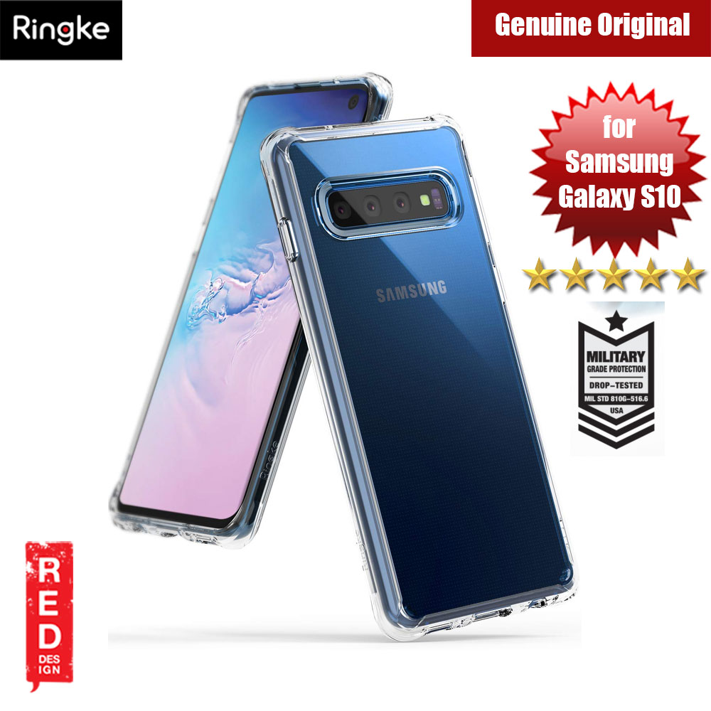 Picture of Ringke Fusion Drop Protection Case for Samsung Galaxy S10 (Crystal Clear) Samsung Galaxy S10- Samsung Galaxy S10 Cases, Samsung Galaxy S10 Covers, iPad Cases and a wide selection of Samsung Galaxy S10 Accessories in Malaysia, Sabah, Sarawak and Singapore