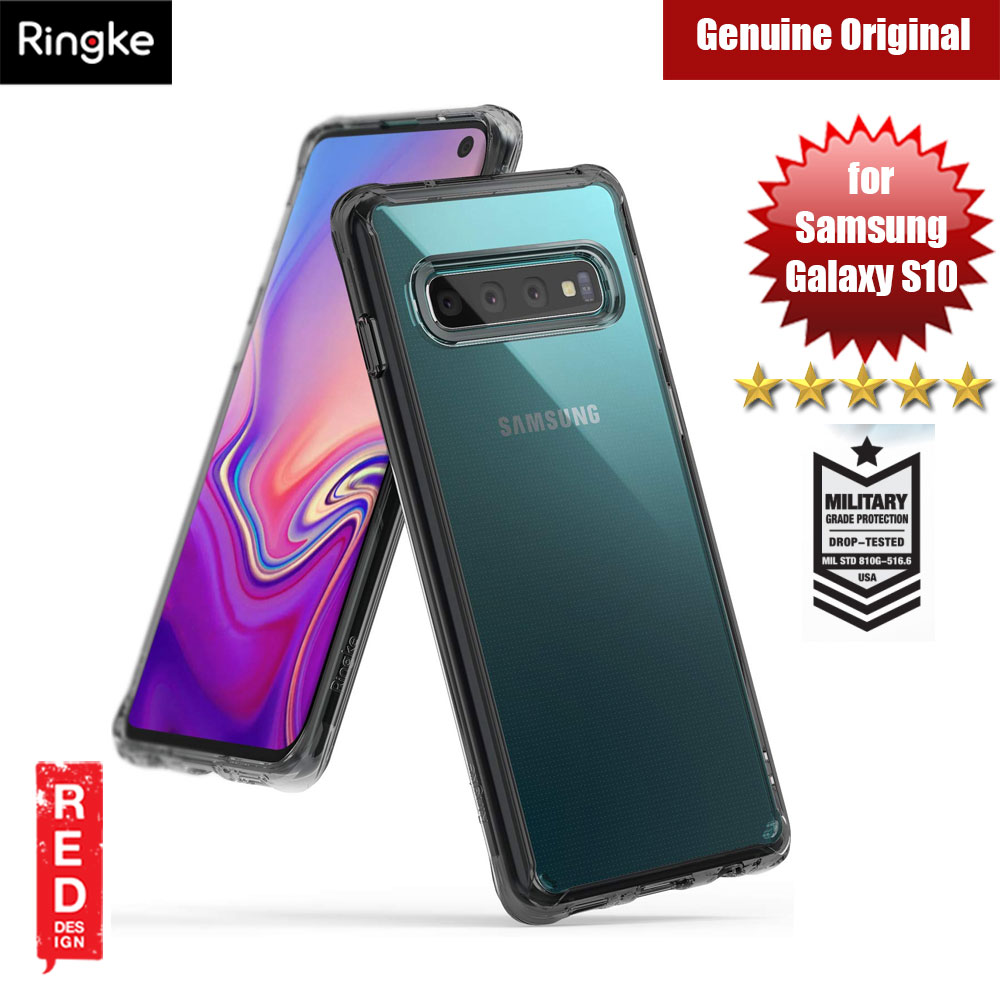 Picture of Ringke Fusion Drop Protection Case for Samsung Galaxy S10 (Smoke Black) Samsung Galaxy S10- Samsung Galaxy S10 Cases, Samsung Galaxy S10 Covers, iPad Cases and a wide selection of Samsung Galaxy S10 Accessories in Malaysia, Sabah, Sarawak and Singapore