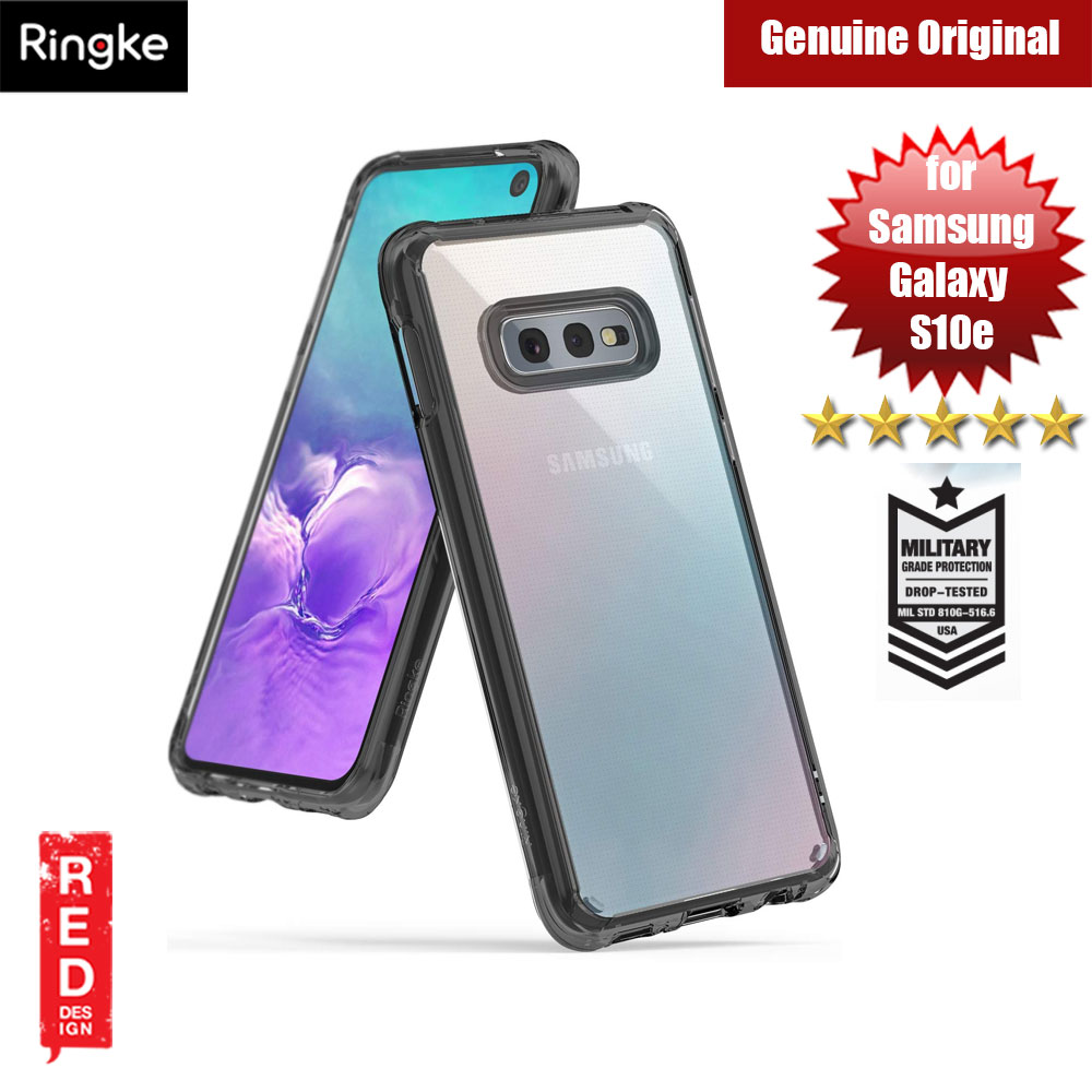 Picture of Ringke Fusion Drop Protection Case for Samsung Galaxy S10e (Smoke Black) Samsung Galaxy S10e- Samsung Galaxy S10e Cases, Samsung Galaxy S10e Covers, iPad Cases and a wide selection of Samsung Galaxy S10e Accessories in Malaysia, Sabah, Sarawak and Singapore