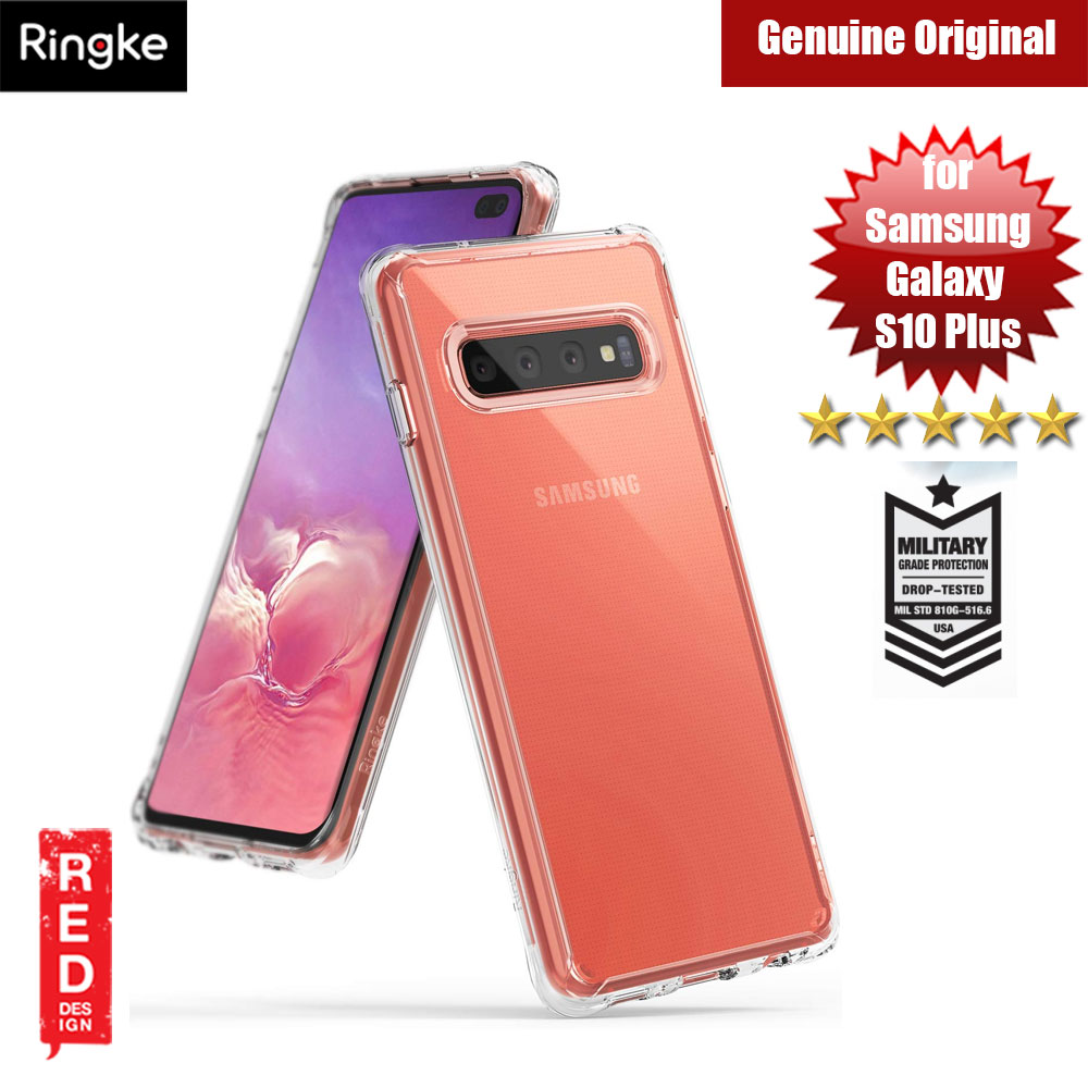 Picture of Ringke Fusion Drop Protection Case for Samsung Galaxy S10 Plus (Crystal Clear) Samsung Galaxy S10 Plus- Samsung Galaxy S10 Plus Cases, Samsung Galaxy S10 Plus Covers, iPad Cases and a wide selection of Samsung Galaxy S10 Plus Accessories in Malaysia, Sabah, Sarawak and Singapore