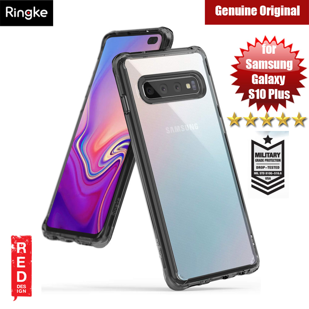 Picture of Ringke Fusion Drop Protection Case for Samsung Galaxy S10 Plus (Smoke Black) Samsung Galaxy S10 Plus- Samsung Galaxy S10 Plus Cases, Samsung Galaxy S10 Plus Covers, iPad Cases and a wide selection of Samsung Galaxy S10 Plus Accessories in Malaysia, Sabah, Sarawak and Singapore
