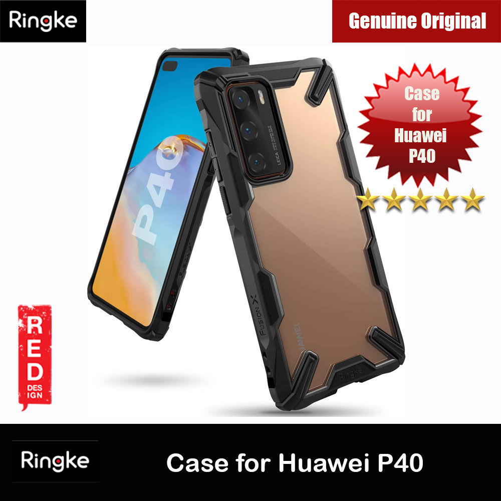 Picture of Ringke Fusion X Extreme Tough Protection Case for Huawei P40 (Black) Huawei P40- Huawei P40 Cases, Huawei P40 Covers, iPad Cases and a wide selection of Huawei P40 Accessories in Malaysia, Sabah, Sarawak and Singapore