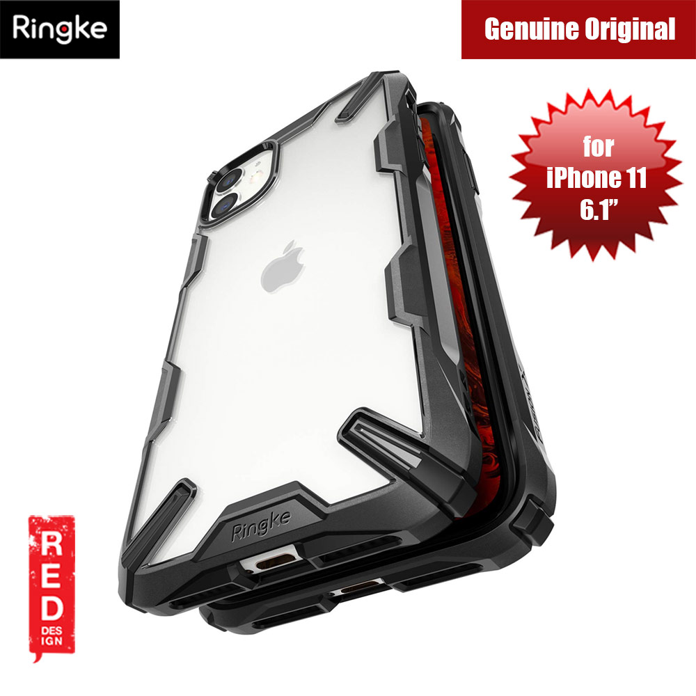 Picture of Ringke Fusion X Extreme Tough Protection for Apple iPhone 11 (Black) Apple iPhone 11 6.1- Apple iPhone 11 6.1 Cases, Apple iPhone 11 6.1 Covers, iPad Cases and a wide selection of Apple iPhone 11 6.1 Accessories in Malaysia, Sabah, Sarawak and Singapore