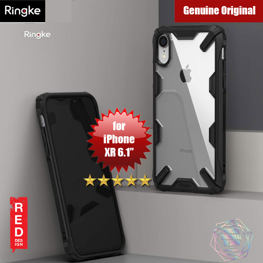 Picture of Ringke Fusion X Extreme Tough Protection for Apple iPhone XR (Black) Apple iPhone XR- Apple iPhone XR Cases, Apple iPhone XR Covers, iPad Cases and a wide selection of Apple iPhone XR Accessories in Malaysia, Sabah, Sarawak and Singapore