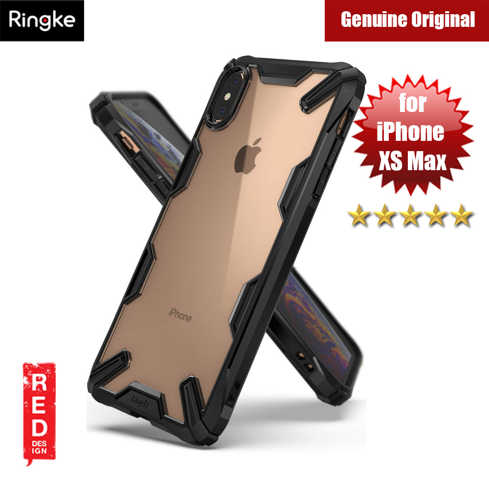 Picture of Ringke Fusion X Extreme Tough Protection for Apple iPhone XS Max (Black) Apple iPhone XS Max- Apple iPhone XS Max Cases, Apple iPhone XS Max Covers, iPad Cases and a wide selection of Apple iPhone XS Max Accessories in Malaysia, Sabah, Sarawak and Singapore